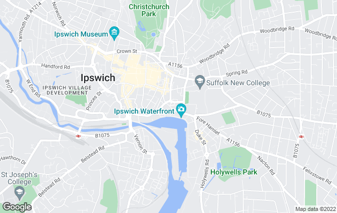 Map for Your Advisors, Ipswich