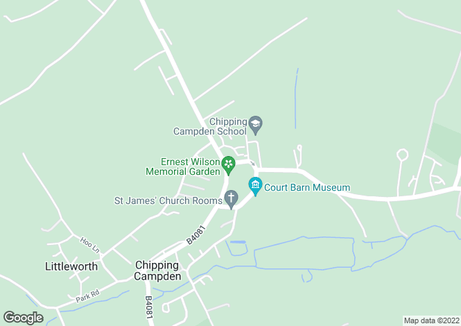 Map for Weighbridge Court, Chipping Campden, Gloucestershire