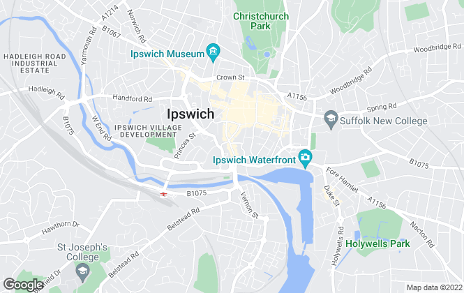 Map for Seven Property Group, Ipswich