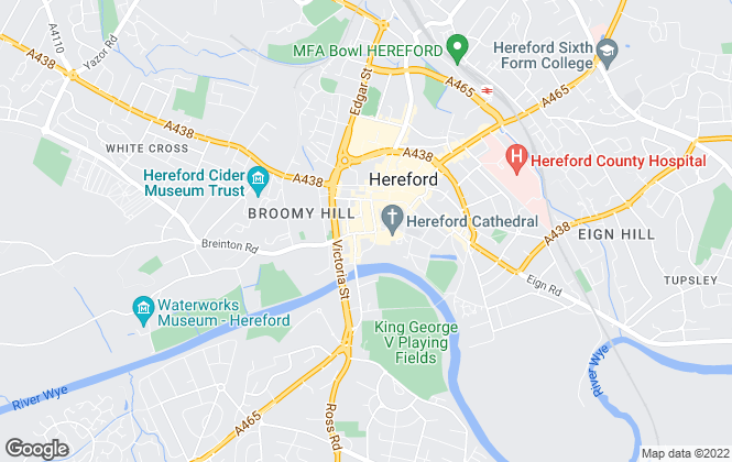 Map for Connells, Hereford