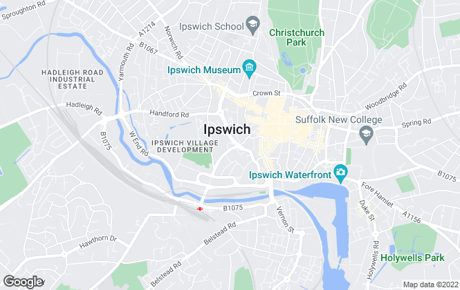 Map for Concertus Design and Property Consultants Limited , Ipswich