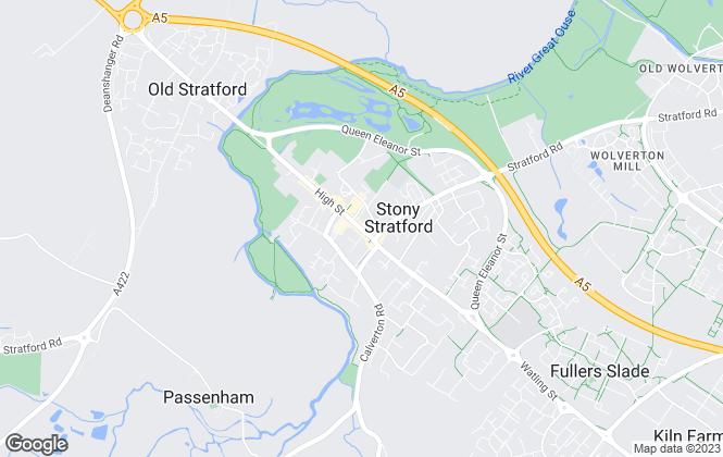 Map for Stratfield Property Solutions Ltd, Stony Stratford