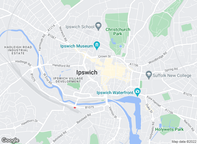 Map for William H. Brown, Ipswich