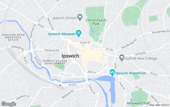 Map for Fenn Wright Commercial, Ipswich Commercial