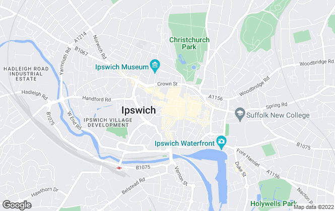 Map for Fenn Wright, Ipswich Commercial Sales and Lettings