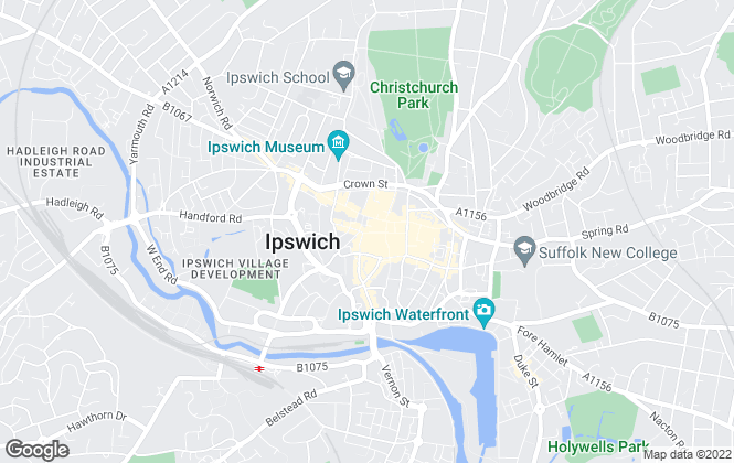 Map for Abbotts, Ipswich