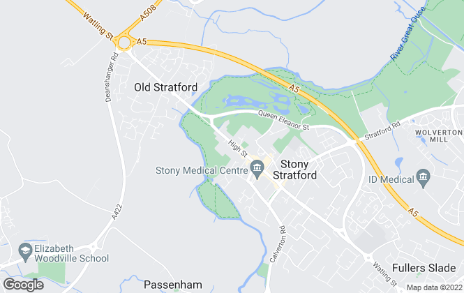 Map for Michael Graham, Stony Stratford