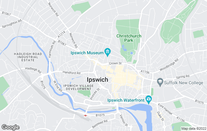 Map for Pennington Surveyors Limited , Ipswich