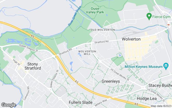Map for Mason Kelly Property Consultants, Milton Keynes