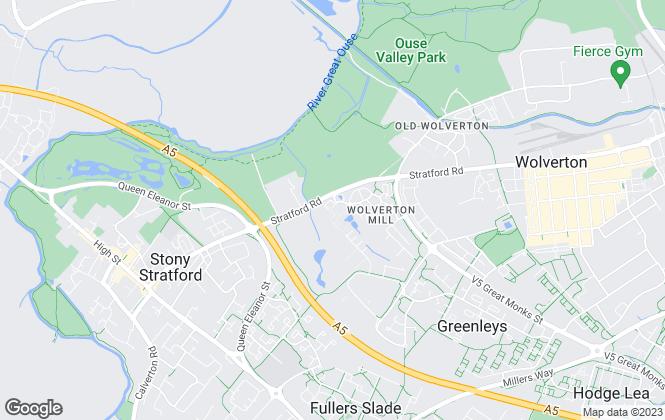 Map for Hawkmoth Property Consultants Ltd, Milton Keynes