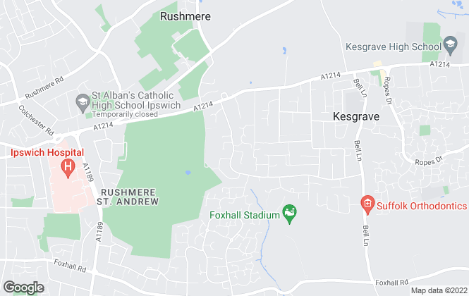 Map for Hamilton Smith, Rushmere St. Andrew