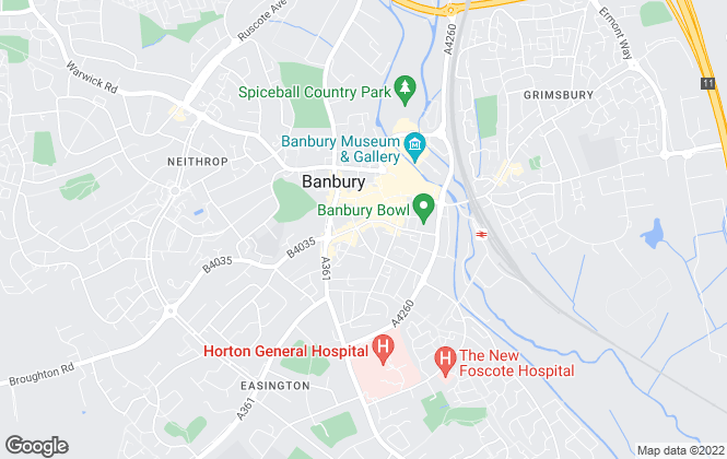 Map for Pontings Residential  , Banbury
