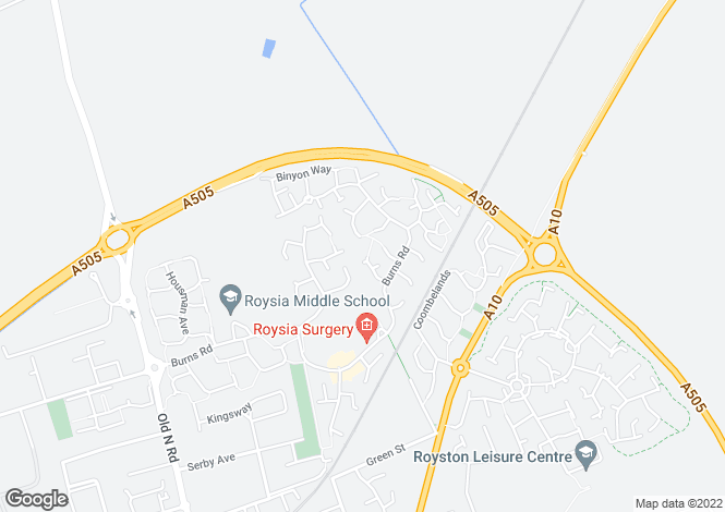 Map for Swift Close,