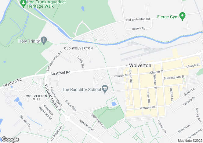 Map for Quartz at Stratford Park, Stratford Road,