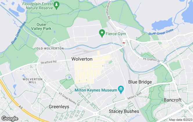 Map for Creative Lettings UK Ltd, Wolverton
