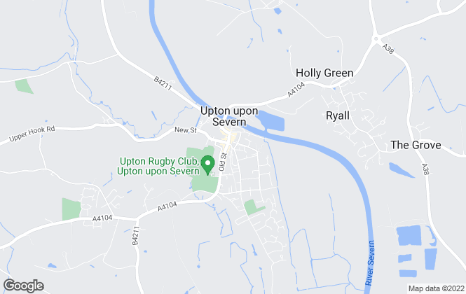 Map for Roberts & Egan, Upton Upon Severn