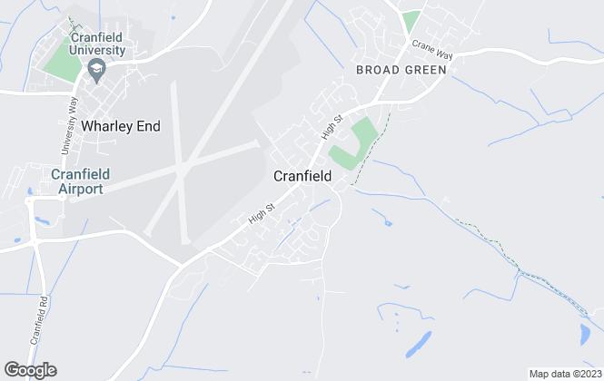 Map for Cranes Estate Agents, Cranfield
