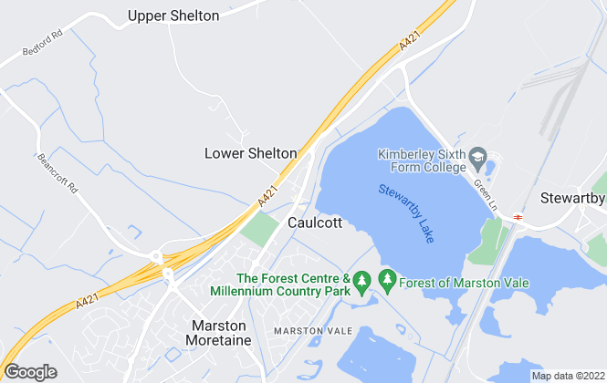 Map for MVP Executive, Bedfordshire