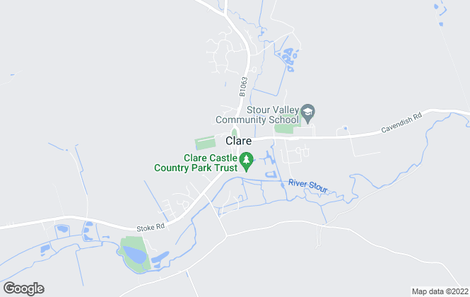 Map for David Burr Estate Agents, Clare