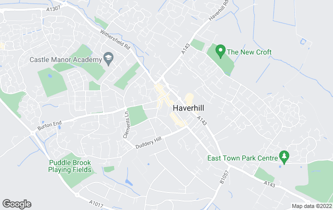 Map for Preview property services, Haverhill