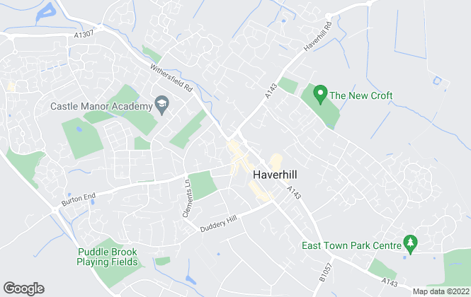 Map for Samuel's Independent Estate Agents, Haverhill
