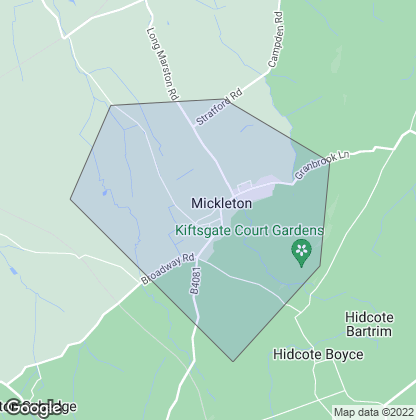 Map of property in Mickleton