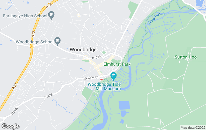 Map for Gobbitt & Kirby, Woodbridge
