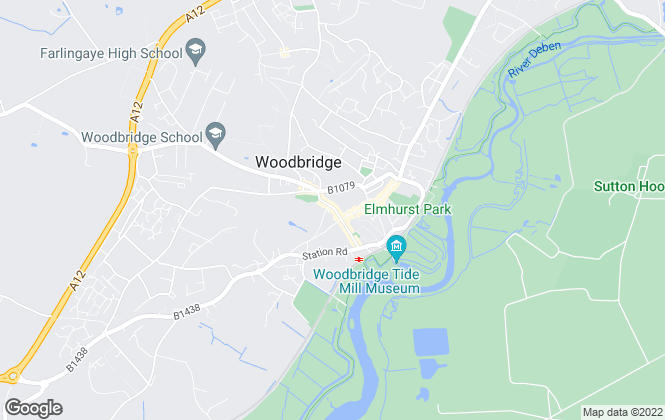 Map for Hamilton Smith, Woodbridge