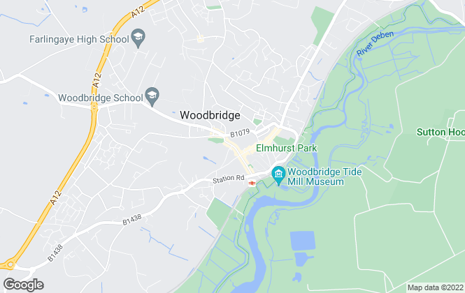 Map for IP Twelve Lettings & Property Management, Woodbridge