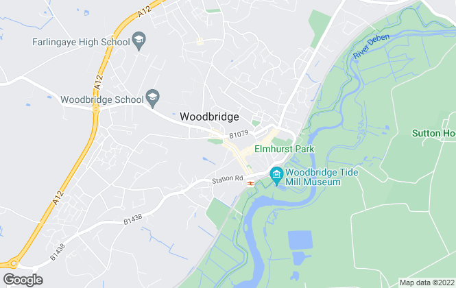 Map for Neals , Woodbridge