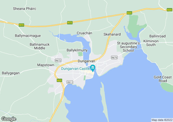 Map for 31 Mary St. - (3 Potential Income Streams), Dungarvan, Waterford