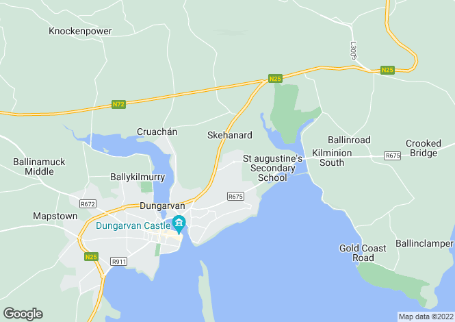 Map for 6 Care Choice Retirement Village, Dungarvan, Waterford