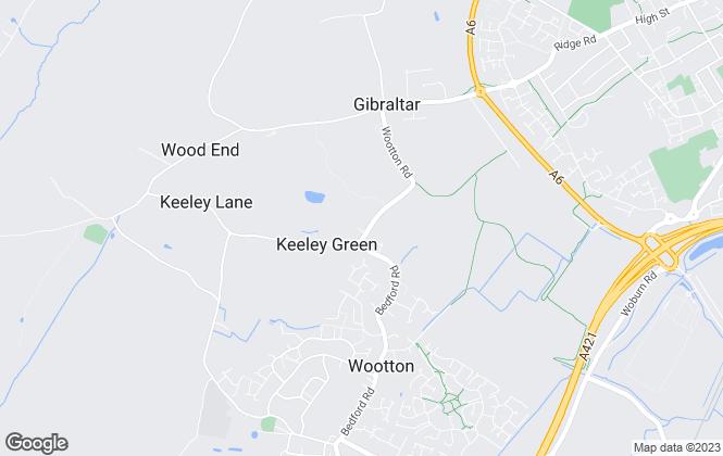 Map for Aston Charles Estate Agents Ltd, Bedford