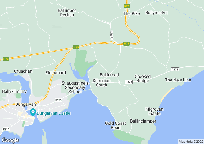 Map for 51 Pairc na MBlath, Ballinroad, Dungarvan, Co Waterford