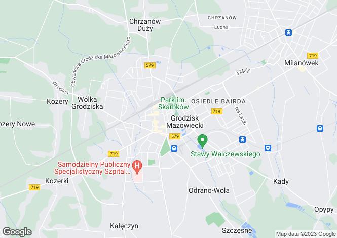 Map for Grodzisk Mazowiecki, Warsaw