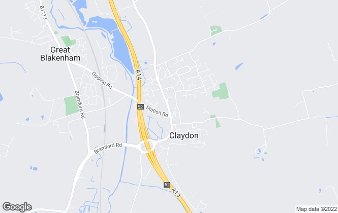 Map for Hamilton Smith, Claydon