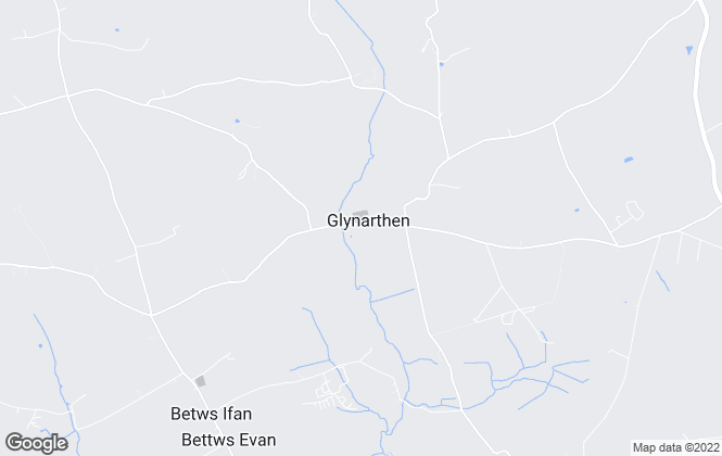 Map for Cardigan Bay Properties, Glynarthen