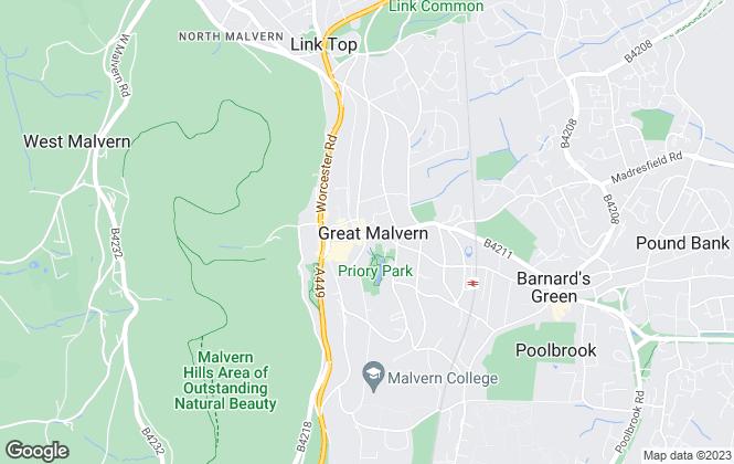 Map for Taylor Clarke Ltd, Worcester