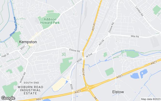 Map for Safestore Limited, Bedford