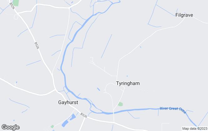 Map for Sherwill Drake Forbes, Buckinghamshire