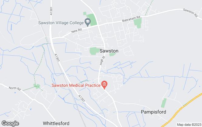 Map for Tucker Gardner, Sawston