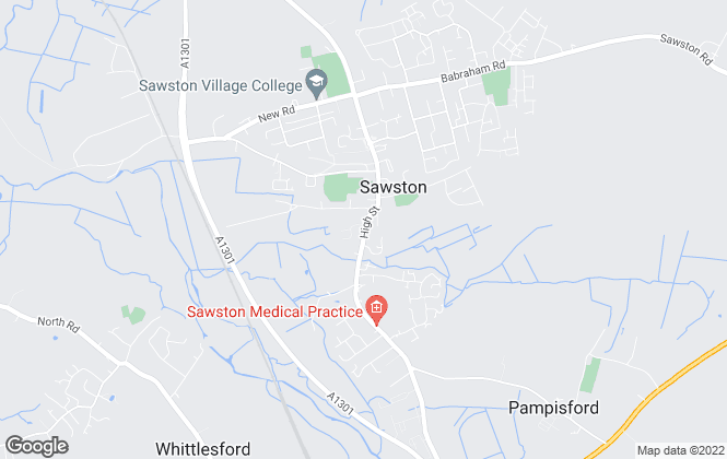 Map for Tucker Gardner, Sawston