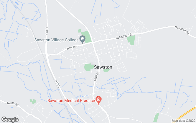 Map for Bee Moving Soon Limited, Sawston