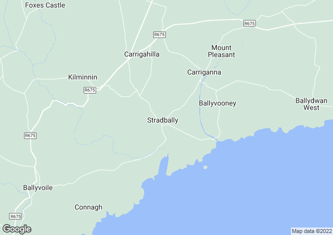 Map for Stradbally, Waterford