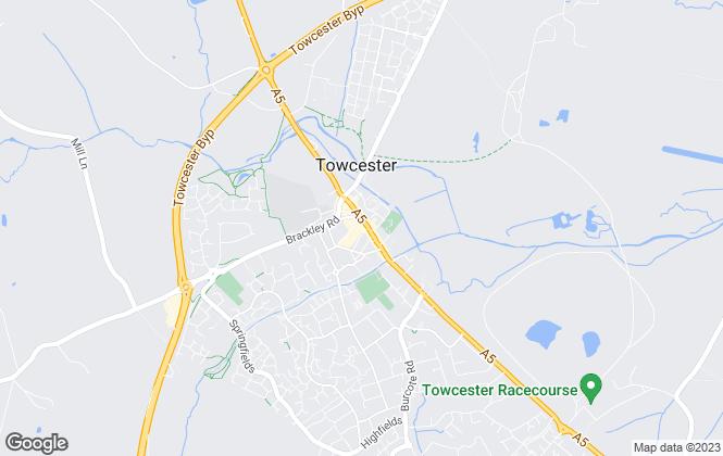 Map for Mustard, Towcester