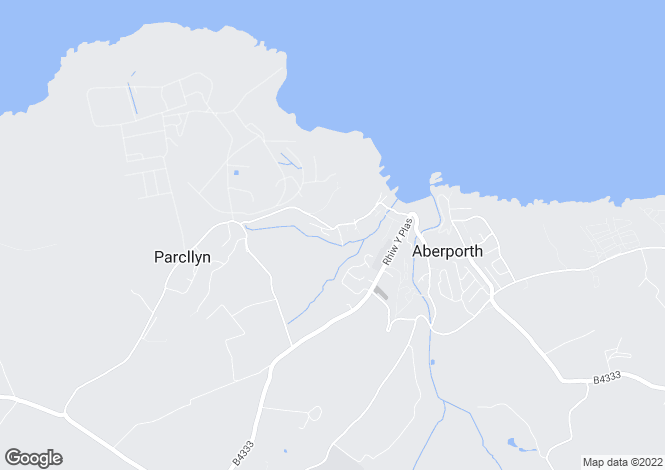 Map for ABERPORTH, Ceredigion