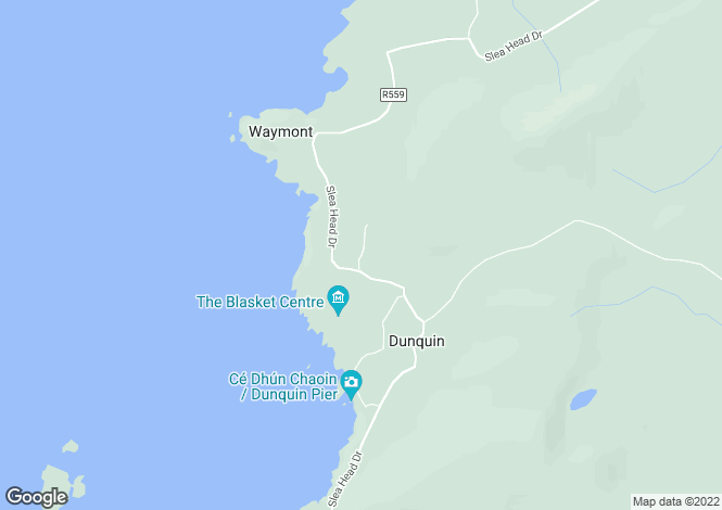 Map for Dunquin, Kerry