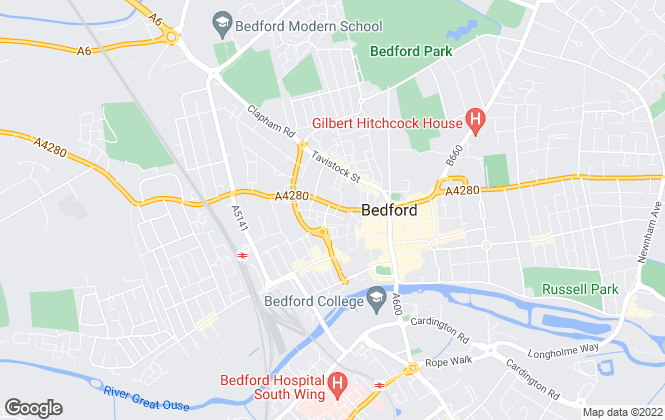 Map for Compass , Bedford