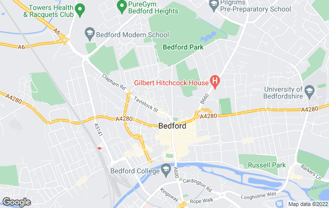 Map for Taylor Made New Homes Limited , Bedford
