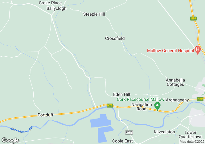 Map for Gortnagross, Mallow, Cork